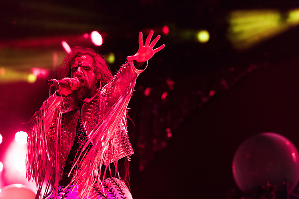 May 8, 2016. Concord, North Carolina.  <br />  Rob Zombie takes the stage.<br />  The 2016 Carolina Rebellion was held over May 6-8 next to the Charlotte Motor Speedway and featured over 50 bands including headliners Lynyrd Skynyrd, The Scorpions, Five Finger Death Punch, Disturbed, and Rob Zombie.