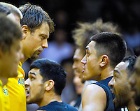 The Tall Blacks perform a haka before the FIBA Oceania men's tournament basketball match between New Zealand and Australia at TSB Bank Arena, Wellington, New Zealand on Tuesday, 18 August 2015. Photo: Dave Lintott / lintottphoto.co.nz
