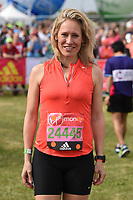 Sophie Raworth at the start of the 2017 London Marathon on Blackheath Common, London, UK. <br /> 23 April  2017<br /> Picture: Steve Vas/Featureflash/SilverHub 0208 004 5359 sales@silverhubmedia.com