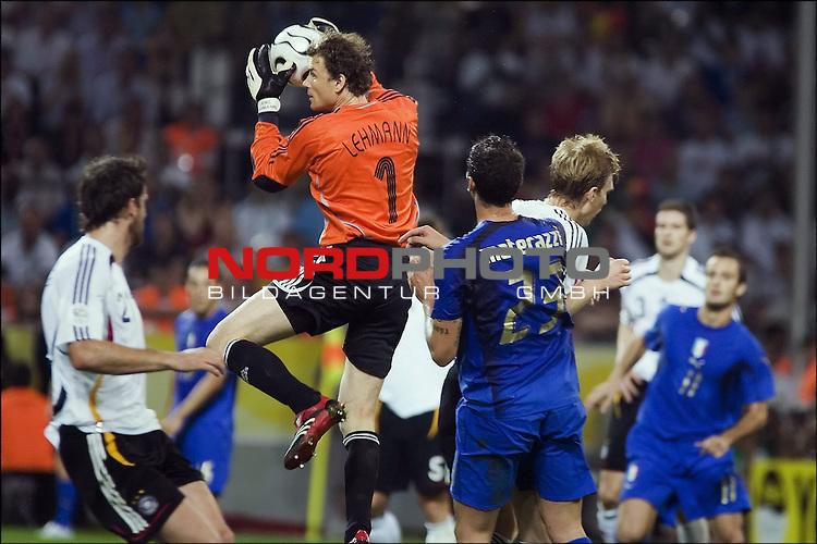 FIFA WM 2006 -  Halbfinale. <br /> Play    #61 (04-Jul) - Deutchland - Italien.<br /> Jens Lehmann.<br /> <br /> Foto &copy; nordphoto