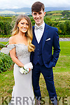 Kelly Tobin and Mike Hoare attending the Presentation Tralee Debs in the Ballyroe Hotel on Tuesday.