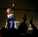 """***Exclusive Coverage***.Curtain Call for """"LOOPED"""" starring Valerie Harper as Tallulah Bankhead at the Arena Stage - Ford Theatre  in Washington, D.C. June 12, 2009."""