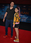 """Mari Takahashi, Peter Kitch 003 arrives for the premiere of Sony Pictures' """"Spider-Man Far From Home"""" held at TCL Chinese Theatre on June 26, 2019 in Hollywood, California"""