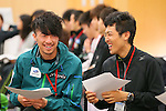 (L-R) Sho Endo, Yoshito Watabe, APRIL 21, 2013 : The Building up Team Japan 2013 for Sochi at Ajinomoto NTC, Tokyo, Japan. (Photo by AFLO SPORT)