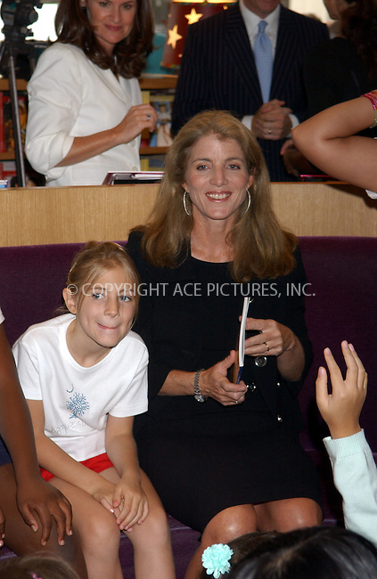 WWW.ACEPIXS.COM . . . . . ....August 24, 2006, New York City. ....Caroline Kennedy, Fund for Public Schools Vice Chair, attends the 'Shop 4 Class' kickoff held at the American Girl Place. ....Please byline: KRISTIN CALLAHAN - ACEPIXS.COM.. . . . . . ..Ace Pictures, Inc:  ..(212) 243-8787 or (646) 769 0430..e-mail: info@acepixs.com..web: http://www.acepixs.com
