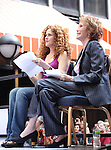 Bernadette Peters & Mary Tyler Moore.onstage at Broadway Barks 14 at the Booth Theatre on July 14, 2012 in New York City. Marking its 14th anniversary, Broadway Barks!, founded by Bernadette Peters and Mary Tyler Moore helps many of New York City's shelter animals find permanent homes and also inform New Yorkers about the plight of the thousands of homeless dogs and cats in the metropolitan area.