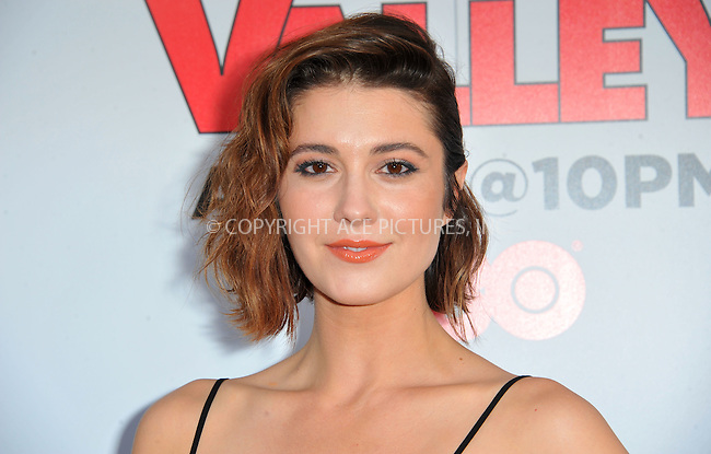 WWW.ACEPIXS.COM<br /> <br /> April 2 2015, LA<br /> <br /> Mary Elizabeth Winstead arriving at the premiere of HBO's 'Silicon Valley' 2nd Season at the El Capitan Theatre on April 2, 2015 in Hollywood, California. <br /> <br /> <br /> By Line: Peter West/ACE Pictures<br /> <br /> <br /> ACE Pictures, Inc.<br /> tel: 646 769 0430<br /> Email: info@acepixs.com<br /> www.acepixs.com