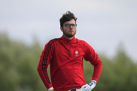 Harry Goddard (Hanbury Manor) on the 4th tee during Round 3 of the Lytham Trophy, held at Royal Lytham & St. Anne's, Lytham, Lancashire, England. 05/05/19<br /> <br /> Picture: Thos Caffrey / Golffile<br /> <br /> All photos usage must carry mandatory copyright credit (© Golffile | Thos Caffrey)