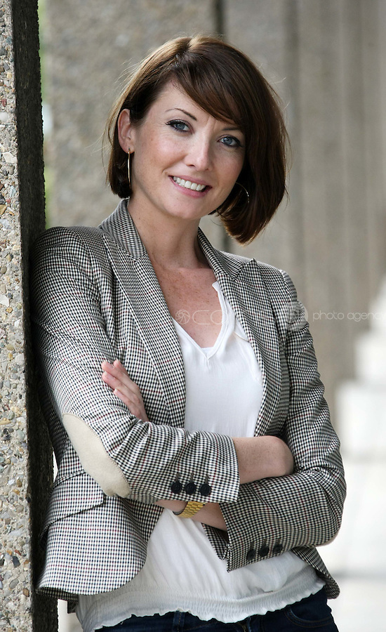 05/08/'10  Jennifer Maguire of One Night Stand pictured  at the launch of RTE's new season winter schedule at Montrose this afternoon...Picture Colin Keegan, Collins, Dublin.