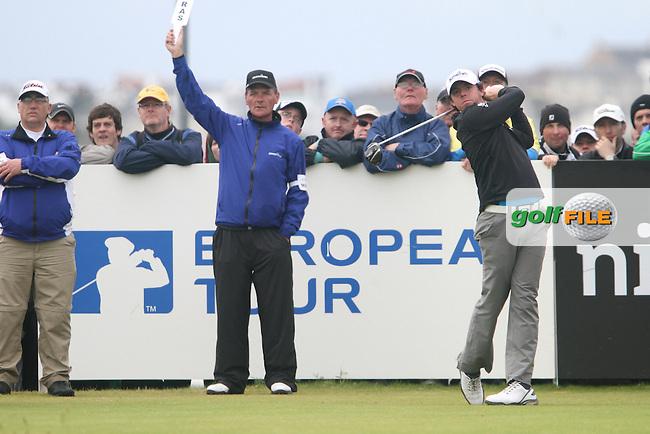 Rory McIlroy (NIR) on Day 4 of the 2012 Irish Open at Royal Portrush Golf Club, Portrush, Co.Antrim, 1/7/12...(Photo Jenny Matthews/www.golffile.ie)