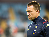 30th October 2019; Villa Park, Birmingham, Midlands, England; English Football League Cup, Carabao Cup, Aston Villa versus Wolverhampton Wanderers; John Terry Assistant Head Coach of Aston Villa on the pitch before the kick off  - Strictly Editorial Use Only. No use with unauthorized audio, video, data, fixture lists, club/league logos or 'live' services. Online in-match use limited to 120 images, no video emulation. No use in betting, games or single club/league/player publications