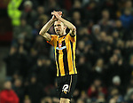 Luke Chadwick of Cambridge Utd is substituted in the second half - FA Cup Fourth Round replay - Manchester Utd  vs Cambridge Utd - Old Trafford Stadium  - Manchester - England - 03rd February 2015 - Picture Simon Bellis/Sportimage