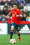 Spain's Sergio Reguilon   during the International Friendly match on 21th March, 2019 in Granada, Spain. (ALTERPHOTOS/Alconada)