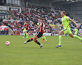07/05/2016 Sky Bet League Two Morecambe v York City<br /> Aaron Wildig shoots