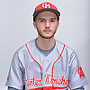 Liam Pulsipher of Center Moriches poses for a portrait during Newsday's varsity baseball season preview photo shoot at company headquarters on Saturday, March 18, 2017.