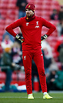 Andy Lonergan of Liverpool during the Premier League match at Anfield, Liverpool. Picture date: 30th November 2019. Picture credit should read: Simon Bellis/Sportimage