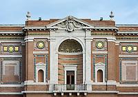 Pinacoteca Vaticana exterior, Vatican Museums, Vatican City, Rome, Italy