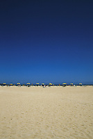 Beach and sky. Corralejo,Fuerteventura, Canary Islands.
