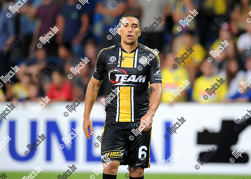 2014-07-26 / Voetbal / seizoen 2014-2015 / KVC Westerlo - Sporting Lokeren / Arthur Henrique<br /><br />Foto: mpics.be