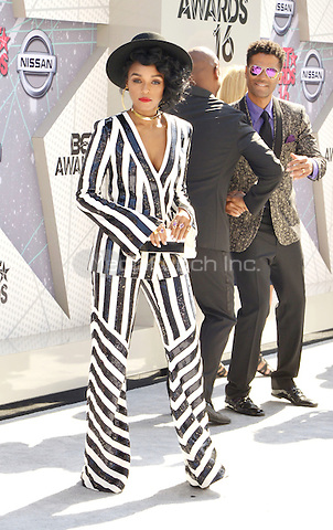 LOS ANGELES, CA - JUNE 26: Janelle Monae at the 2016 BET Awards at the Microsoft Theater on June 26, 2016 in Los Angeles, California. Credit: Koi Sojer/MediaPunch