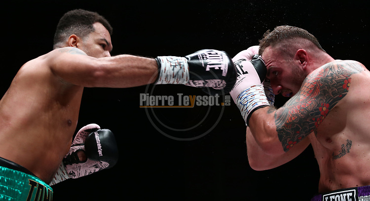 Il Festival dello Sport 2019 - Trento Boxing Night, on October 11, 2019, in Trento, Italy. Fabio Turchi (ITA) vs Tommy McCarthy (IRE). Photo: Pierre Teyssot / RCS<br /> <br /> www.pierreteyssot.com