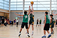 Basketball &ndash; CSW 3&times;3 Junior Tournament at Walter Nash Centre, Lower Hutt, New Zealand on Tuesday 6 November 2018. <br /> Photo by Masanori Udagawa. <br /> www.photowellington.photoshelter.com