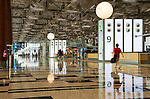 Singapore Changi Airport 03 - Landside departure hall, Changi Airport Terminal 3, Singapore