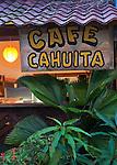 Restaurant, Cahuita, Costa Rica