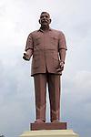 Statue of first prime minister Don Stephen Senanayake, Polonnaruwa, North Central Province, Sri Lanka, Asia