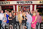 Engagement Party: Rosie O'Connor, Tarbert and Daire King, Co. Down who announced their engagement at a party at McMunns Bar & Restaurant, Ballybunion on Saturday night last.