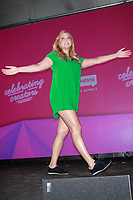 NEW YORK, NY - AUGUST 8: Amy Schumer at #BlogHer18 Creators Summit in New York City on August 8, 2018. Credit: Diego Corredor/MediaPunch<br /> CAP/MPI99<br /> &copy;MPI99/Capital Pictures