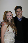 Emily Bridges (daughter of Beau Bridges) and Jake Silbermann (ATWT) both star in Dracula -  attend the opening night of Dracula on January 5, 2011 at the Little Shubert Theatre, New York City, New York and after party at Sardis. (Photo by Sue Coflin/Max Photos)