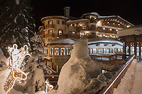 Europe/France/Rhone-Alpes/73/Savoie/Courchevel:  Restaurant: L'Hotel Les Airelles