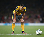 Arsenal's Alexis Sanchez in action during the Champions League group A match at the Emirates Stadium, London. Picture date September 28th, 2016 Pic David Klein/Sportimage