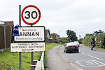 The townsfolk of Annan welcome Rangers to their town
