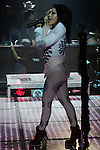1 Dic 2012. Hermosillo Son...La reina del rock Alejandra Guzman durante su concierto en el Palenque de Hermosillo...(Luis Gutierrrez/NortePhoto)