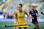 The Hague, Netherlands, June 05: Madonna Blyth #12 of Australia looks on during the field hockey group match (Women - Group A) between Belgium and Australia on June 5, 2014 during the World Cup 2014 at Kyocera Stadium in The Hague, Netherlands. Final score 2:3 (1:1) (Photo by Dirk Markgraf / www.265-images.com) *** Local caption ***