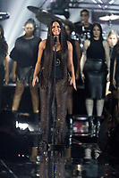 Demi Lovato performs during the show of the 2017 MTV Europe Music Awards, EMAs, at SSE Arena, Wembley, in London, Great Britain, on 12 November 2017. Photo: Hubert Boesl <br />