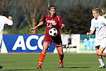 09 November 2008: Virginia Tech's Laurie Beth Puglisi. The University of North Carolina Tarheels defeated the Virginia Tech University Hokies 3-0 at WakeMed Stadium at WakeMed Soccer Park in Cary, NC in the women's ACC tournament championship game.