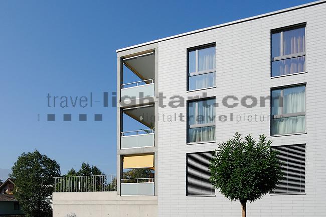 Architekturfotos für Bargetze und Partner in Triesen, MFH-Oberfeld in Triesen. Fotos: Paul Trummer