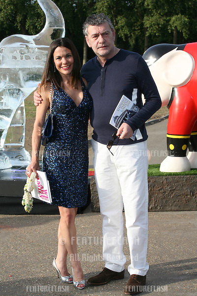 Jack Vettriano attending The Elephant Parade auction in aid of The Elephant Family at Royal Hospital Chelsea. 30/06/2010  Picture by: Alexandra Glen / Featureflash