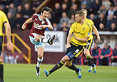 19/04/2016 Sky Bet League Championship  Burnley v Middlesbrough<br /> Joey Barton fires in a shot