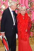 Judith Chalmers<br /> arrives for the World Premiere of &quot;Absolutely Fabulous: The Movie&quot; at the Odeon Leicester Square, London.<br /> <br /> <br /> &copy;Ash Knotek  D3137  29/06/2016