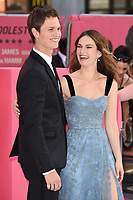 Ansel Elgort and Lily James<br /> at the &quot;Baby Driver&quot; premiere, Cineworld Empire Leicester Square, London. <br /> <br /> <br /> &copy;Ash Knotek  D3285  21/06/2017