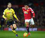 Memphis Depay of Manchester United - Barclay's Premier League - Manchester United vs Watford - Old Trafford - Manchester - 02/03/2016 Pic Philip Oldham/SportImage