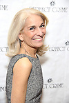 Catherine Russell attends a photo call for Gary Busey's stage debut in 'Perfect Crime'  at The Theater Center on November 10, 2016 in New York City.