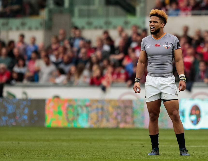 Southern Kings' Berton Klaasen<br /> <br /> Photographer Simon King/CameraSport<br /> <br /> Guinness Pro14 Round 1 - Scarlets v Southern Kings - Saturday 2nd September 2017 - Parc y Scarlets - Llanelli, Wales<br /> <br /> World Copyright &copy; 2017 CameraSport. All rights reserved. 43 Linden Ave. Countesthorpe. Leicester. England. LE8 5PG - Tel: +44 (0) 116 277 4147 - admin@camerasport.com - www.camerasport.com