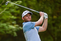 Brandon Grace (RSA) watches his tee shot on 7 during round 2 of the World Golf Championships, Mexico, Club De Golf Chapultepec, Mexico City, Mexico. 3/3/2017.<br />