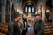 Guided tour of St Mary Magdalene Church, Paddington, London.  The building, designed by architect George Edmund Street, was completed in 1878.