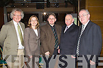 Pictured at the Law Society Talk in the Grand Hotel on Thursday, from left: John Galvin, Ciara O'Connell, Brian Lucey, Michael Larkin and Laurence Twomey.